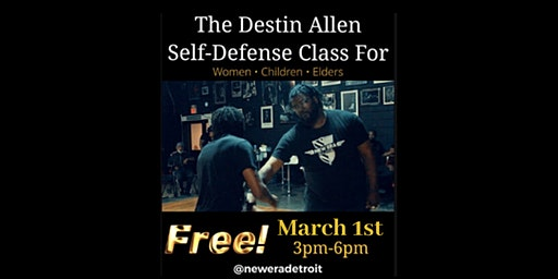 "The ""Destin Allen Self-Defense Class for Women & Children"" ✊"