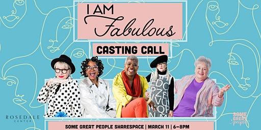 I AM Fabulous Casting Call