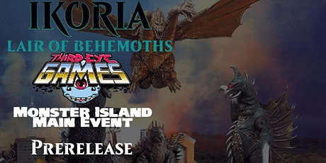Magic the Gathering Ikoria Pre-Release Monster Island Main Event tickets