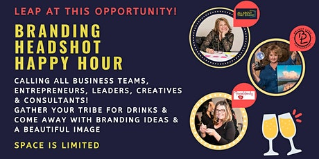 Branding Headshot Happy Hour tickets