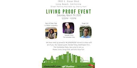 LIVING PROOF EVENT tickets