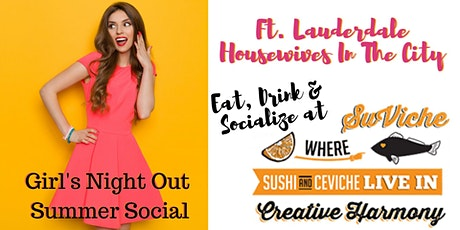 Summer Social at Suviche tickets