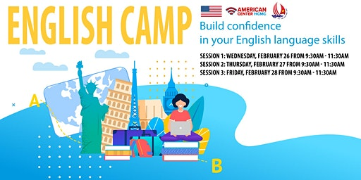 English Camp: Build confidence in your English language skills