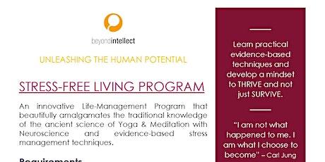 Stress-Free Living Program tickets