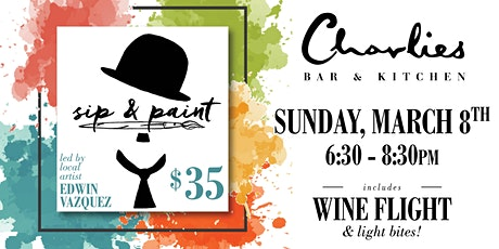 CBK presents: Sip n Paint! w/ Edwin Vazquez tickets