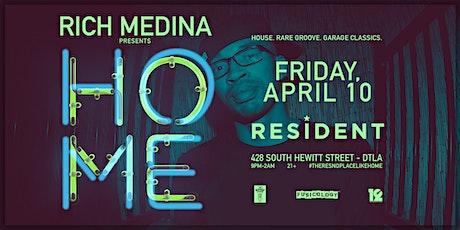 Postponed // Rich Medina Presents HOME tickets