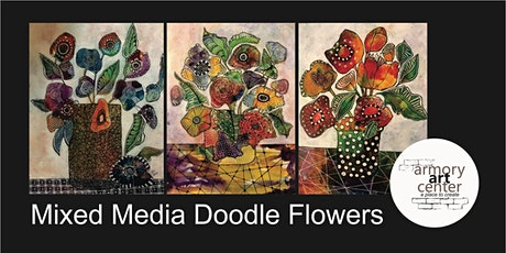 Doodle Flowers Painting tickets