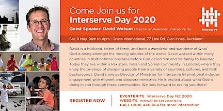 Interserve Day 2020 tickets