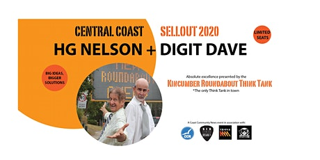 HG NELSON + DIGIT DAVE - SELL OUT 2020 - COMEDY TOUR tickets