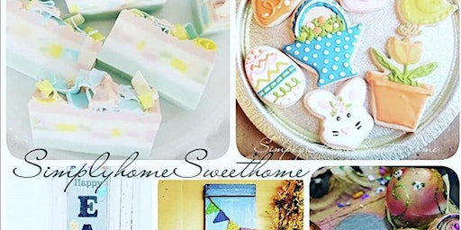Easter Celebrations Day: Creating Easter Decor and Decorating Easter Cookies