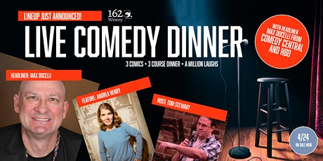 POSTPONED: Live Comedy Dinner Command Performance! tickets
