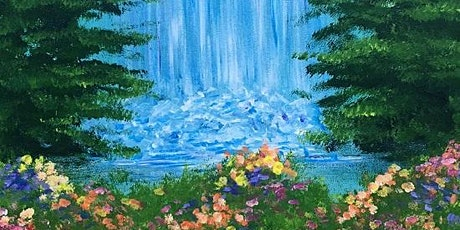 Come Sip and Paint with us! 'Hidden Waterfall' Is Gorgeous tickets