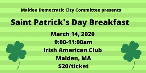 MDCC St. Patrick's Day Breakfast