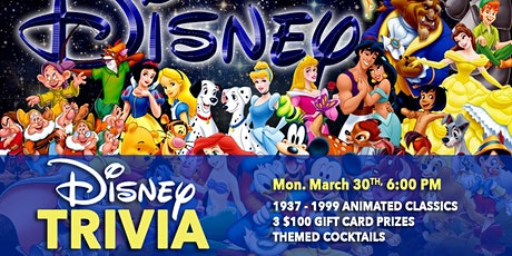 Disney Animated Classics Trivia 2.1 (1937-1999) tickets