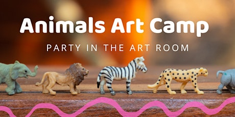 Animals Art Camp at Party in the Art Room tickets