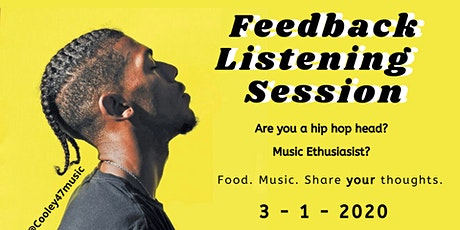 Cooley47Music Feedback Listening Session tickets