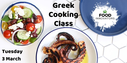 Greek Cooking Class