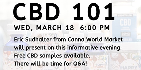CBD 101 at Copper Heights Chiropractic tickets
