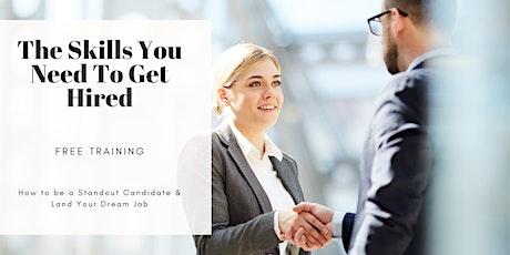 TRAINING: How to Land Your Dream Job (Career Workshop) San Bernardino, CA tickets