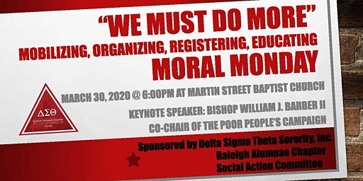"""Moral Monday """"We Must Do MORE""""!"""