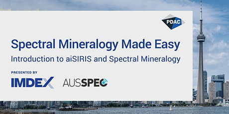 Spectral Mineralogy Made Easy - Presented by IMDEX and AUSSPEC tickets