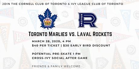 Cross Ivy Toronto Marlies Game, Pre Skate & Post Social tickets