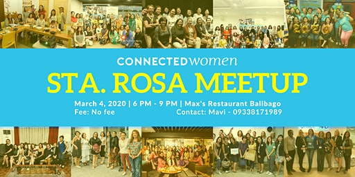 #ConnectedWomen Meetup - Sta. Rosa (PH) - March 4