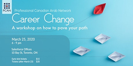 Career Change: A workshop on how to pave your path tickets