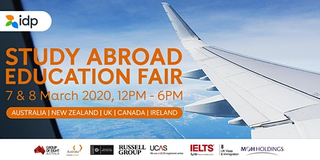 IDP Singapore - Study Abroad Education Fair March 2020 tickets