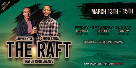 The Raft - Prayer Conference tickets