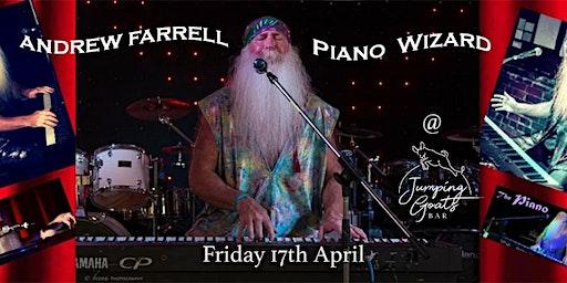 The Piano Wizard: The Musical Genius of Billy Joel, Tom Waits, & Elton John