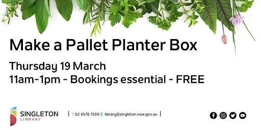 Pallet Planter Box Workshop