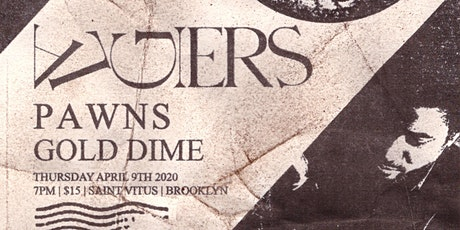 Algiers, Pawns, Gold Dime (New Date! 12/11) tickets