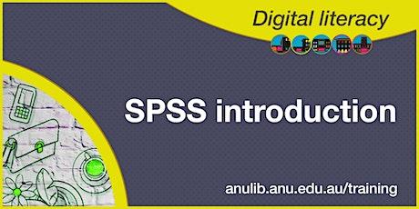 SPSS Introduction webinar tickets