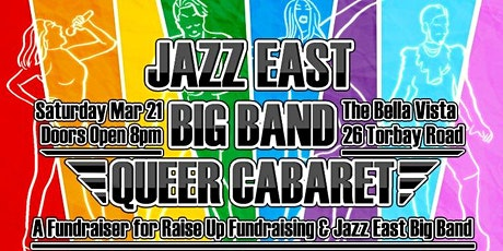 Jazz East Big Band Queer Cabaret tickets