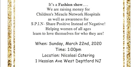 Positive View Fashion Show and Basket Auction tickets
