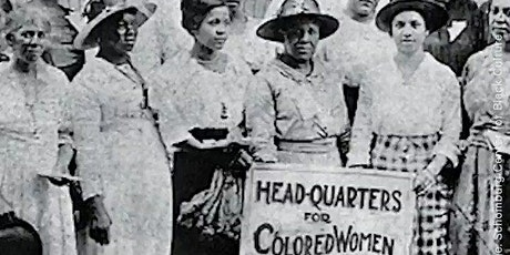 Commemorating African American Suffragists tickets