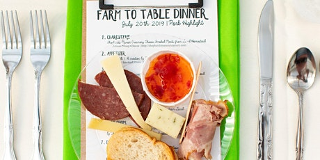 Farm to Table Dinner | June 20th, 2020 @ Local Homestead Products tickets