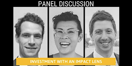 Panel Discussion: Investment through an impact lens tickets