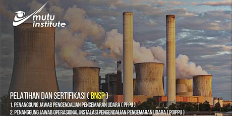 Penanggungjawab Operasional Instalasi Pengendalian Pencemaran Udara /POIPPU tickets