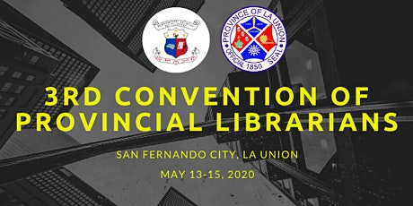 3rd Convention of Provincial Librarians in the Philippines tickets