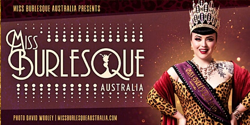 Miss Burlesque Australia - 2020 ACT Competition