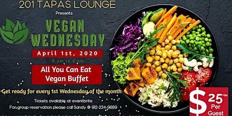 Vegan Wednesday at 201 Tapas tickets