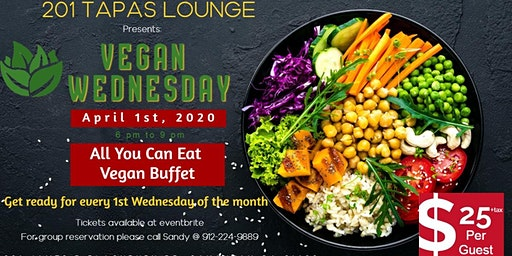 Vegan Wednesday at 201 Tapas