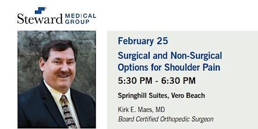 Free Health Seminar -Dr. Kirk E. Maes