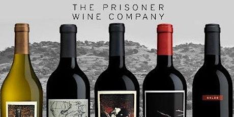 Saturday Samplings:The Prisoner Wine Company tickets