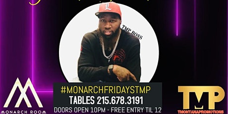 Monarch Fridays TMP tickets