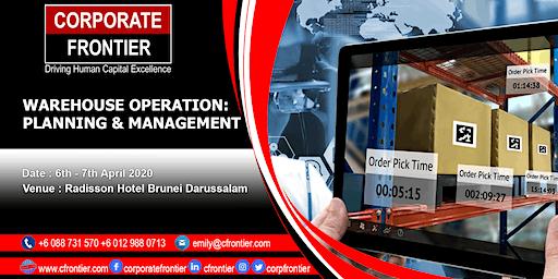 Warehouse Operation: Planning & Management