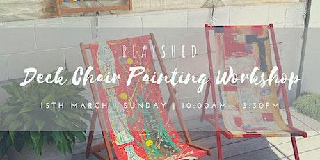 Deck Chair Art  Workshop tickets