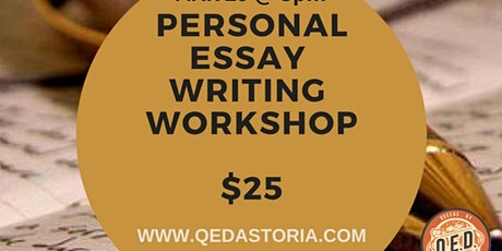 Personal Essay Writing Workshop tickets